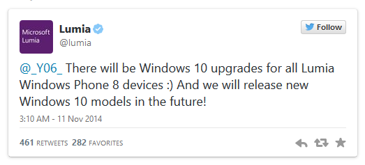 Microsoft Lumia confirms Windows 10 phones in futute and Windows 10 updates for Lumia phones