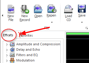 Misspelled word in Free Audio Editor 2014