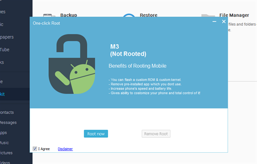 Mobogenie Android phone manager root