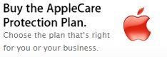 Apple Care protection plan banner