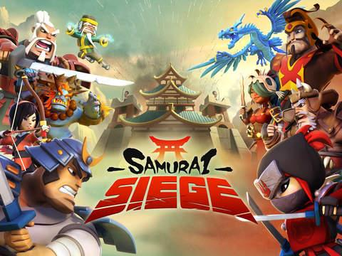 Samurai Seige for iPhone and iPad