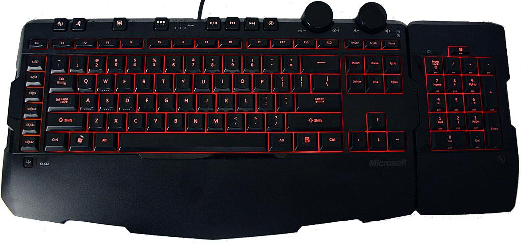 Microsoft Sidewinder X6 Gaming Keyboard Review