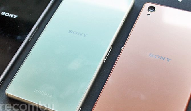 Sony Xperia Z3 Front Rear Sides