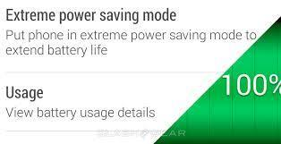 HTC One M8 Power Saving Mode