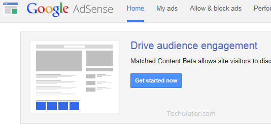 Matched Content by AdSense