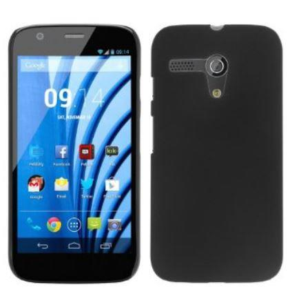 Moto G Cablesetc frosted rubberised hard cover