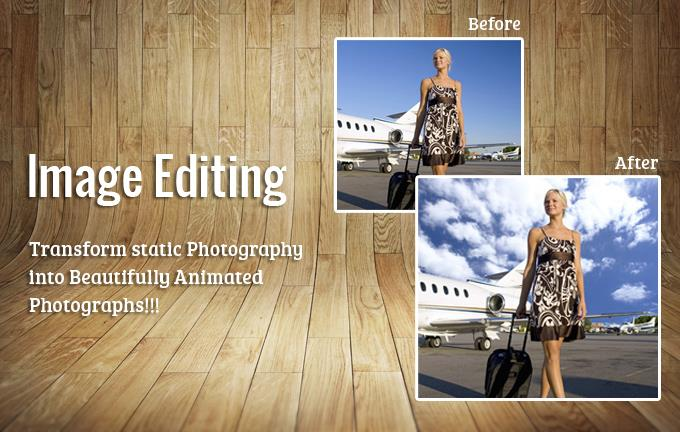 Image Editing - Transform Static Photography into Beautifully Animated Photographs