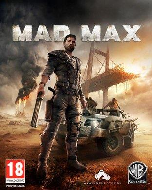 Mad Max 2015 game box cover art