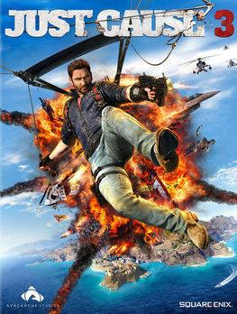 Just Cause 3 box cover art