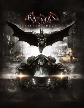 Batman Arkham Knight box cover art