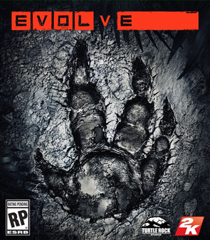 Evolve video game box cover art