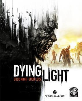 Dying Light video game box cover art