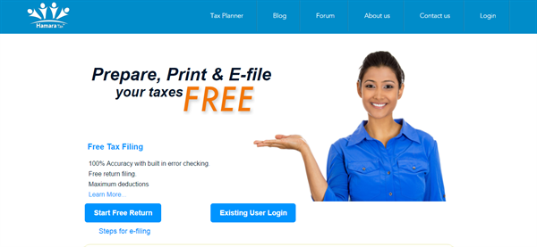 eFile Income Tax Returns online using HamaraTax