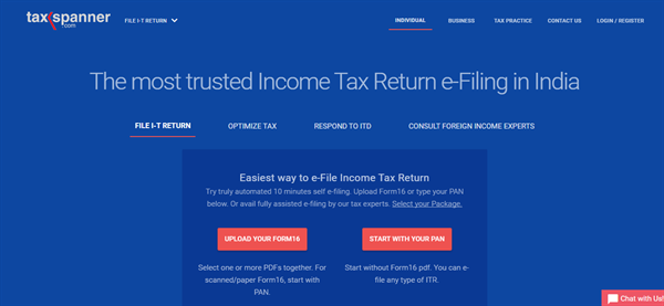 How to use TaxSpanner to E-File Income Tax Returns