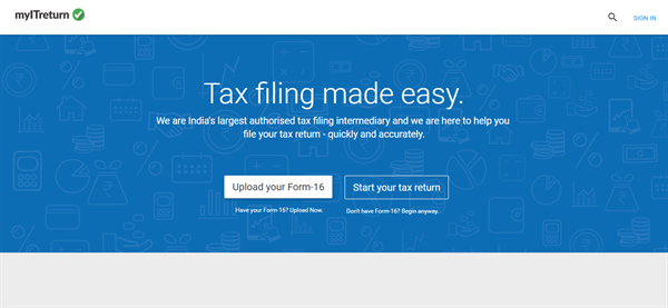 How to use myITreturn to E-File Income Tax Return