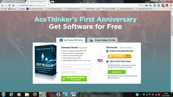 Acethinker Screen Grabber Pro - an ideal screen recorder
