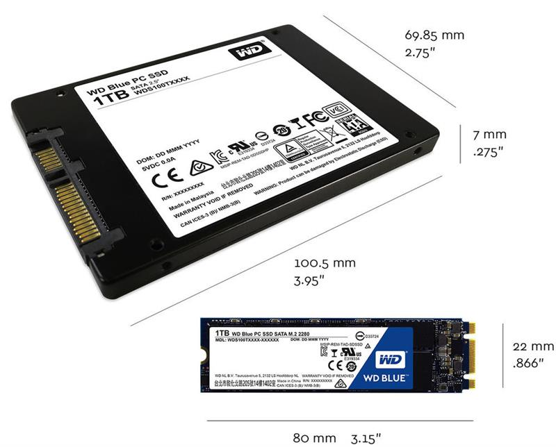 Form factor 2 SSD