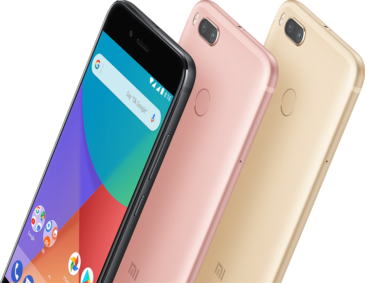 Xiaomi Mi A1 Color options