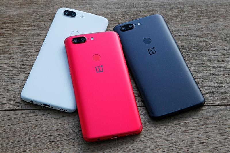 OnePlus 5T Colors