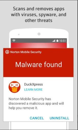 Norton Mobile Security Malware