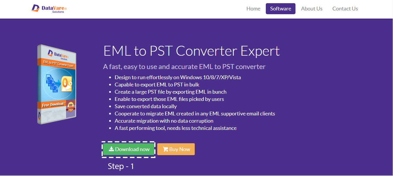 EML to PST Converter – Swift conversion of EML database into