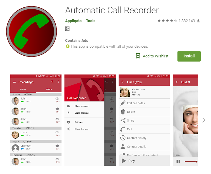 Best Call Recording app on Android 2019