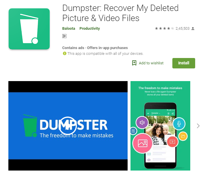 How to recover deleted data on an Android phone?
