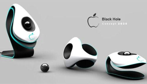 Components of Black Hole Phone from Apple