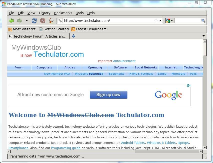 safe website browse