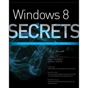 Windows 8 Secrets, Windows 8 Books