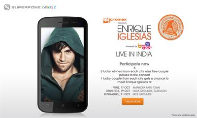 Watch Enrique Iglesias Live Concert in India