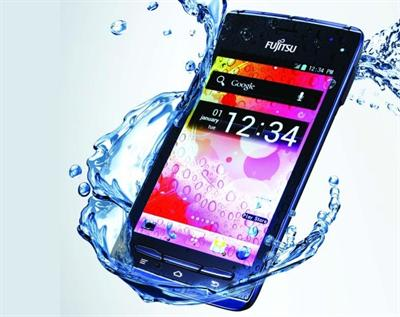 Fujitsu F-074 waterproof smartphone – Specifications, features and price in India
