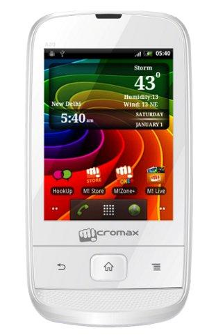 Micromax A30 Smarty 3.0 features, specs and price in India