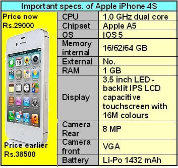 iphone 4s specs 9 leading brands slashed prices of their smartphones from 1444