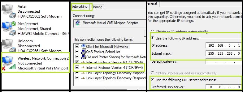 Connect Android Mobile Phones Wi Fi To Computer Or Laptop To Share Internet And Files