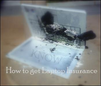 Know how to get Laptop Insurance