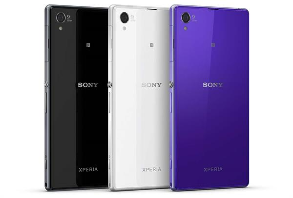 Sony Xperia Z1 - rear