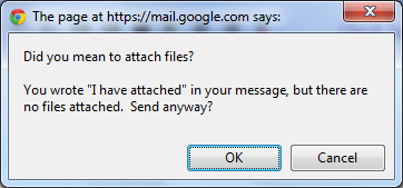 GMail Attachment reminder