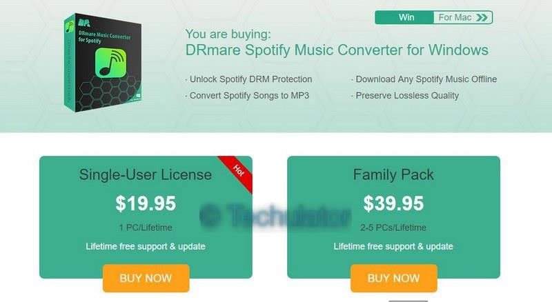 How to use DRmare Spotify Music Converter for Downloading