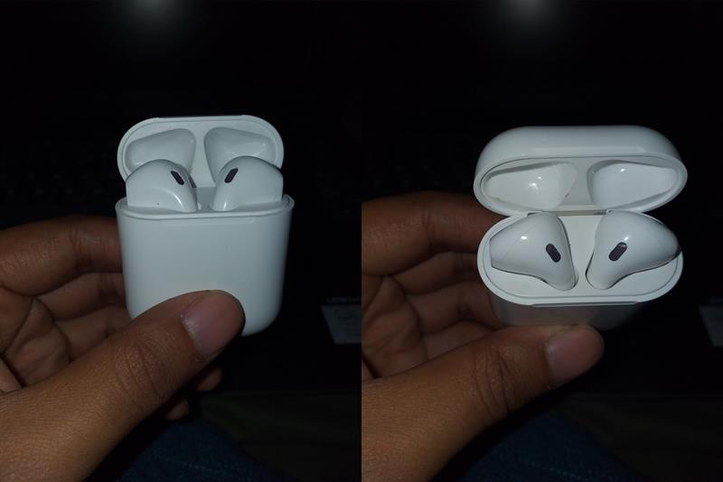 Air X5+ earbuds in case