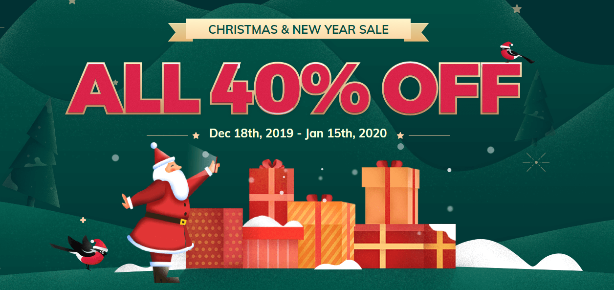 Christmas & New Year sale MobileTrans
