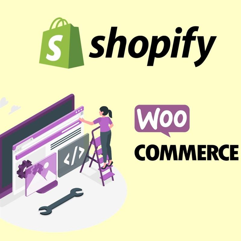Shopify and WooCommerce- Platforms to start an online store