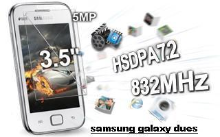 Samsung Galaxy Ace Duos S6802 Their specification and Features